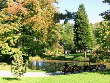 Thueringen Lese Botanischer Garten Jena