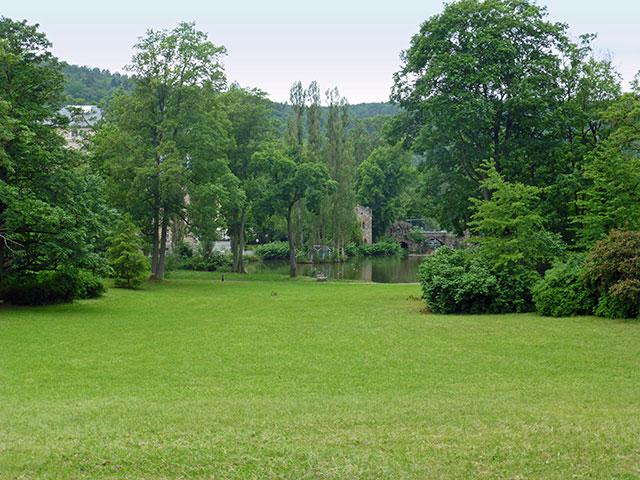 Thueringen-Lese | Der Englische Garten In Meiningen