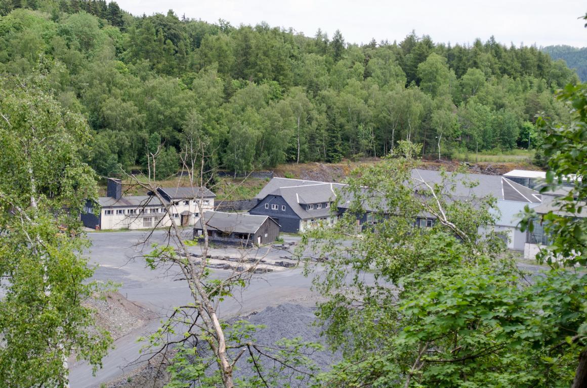 Thueringen Lese örtelsbruch Das Verlassene Dorf